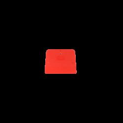 Szpachelka plastikowa czerwona